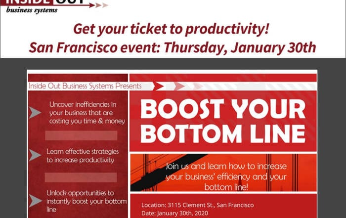 boost your bottom line event january 30, 2020