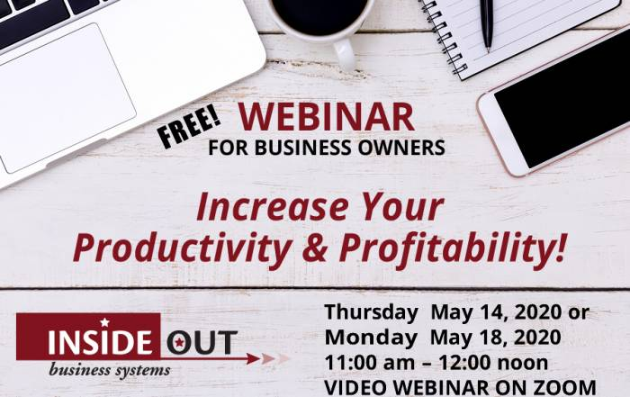 Free 2020 Productivity Webinar