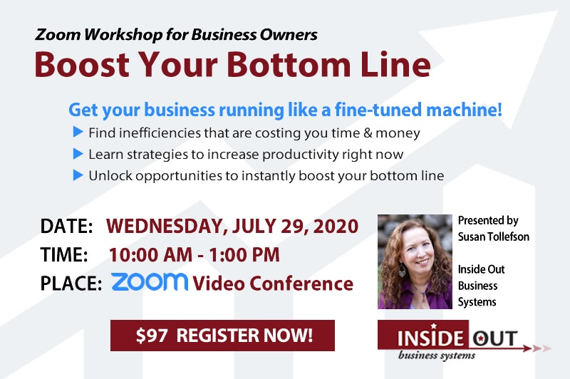 Boos Your Bottom Line Workshop
