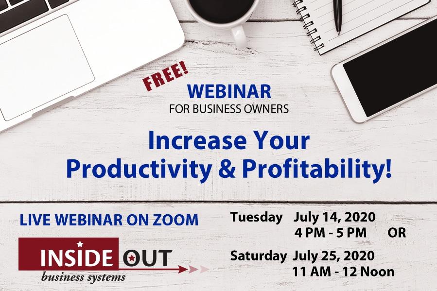 Webinar Productivity 2020-07-14 2020-07-25