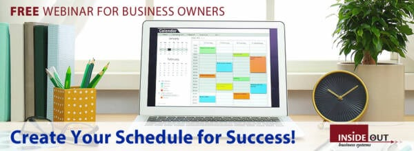Create your schedule for success!
