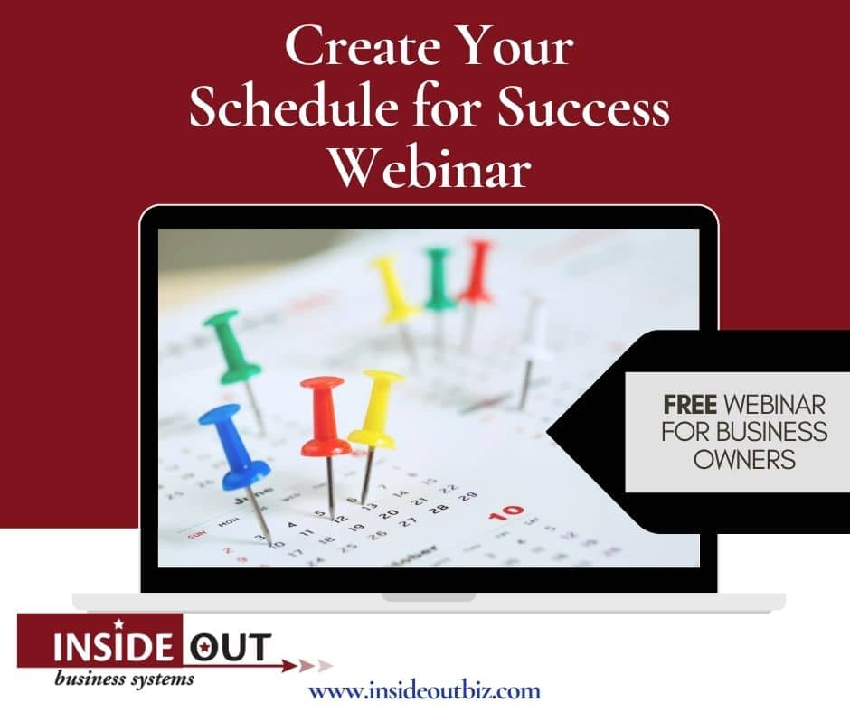 Create Your Schedule for Success