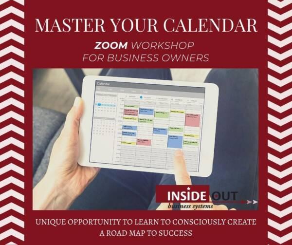 Master Your Calendar Workshop
